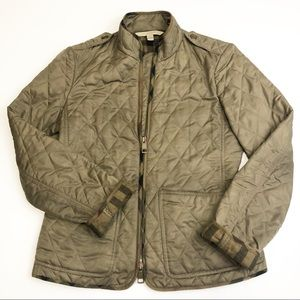 Burberry Brit Edgefield Diamond Quilted Jacket